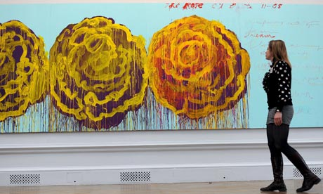 Cy Twombly, The Rose III