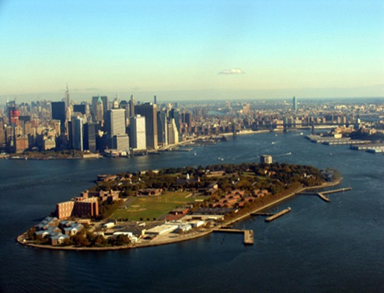 Aerial View of Governors Island