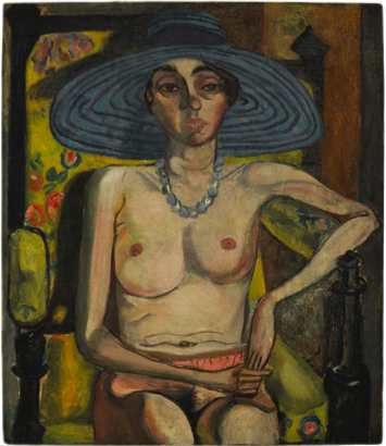 alice-neel-rhoda-myers-with-blue-hat