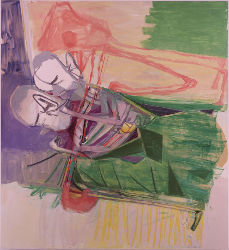 Amy Sillman-Bed-2006