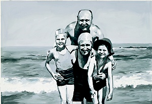 Gerhard Richter, Family at the Seaside