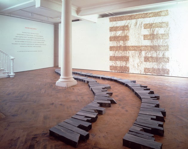 Richard Long-Cornwall Slate Lines-2003