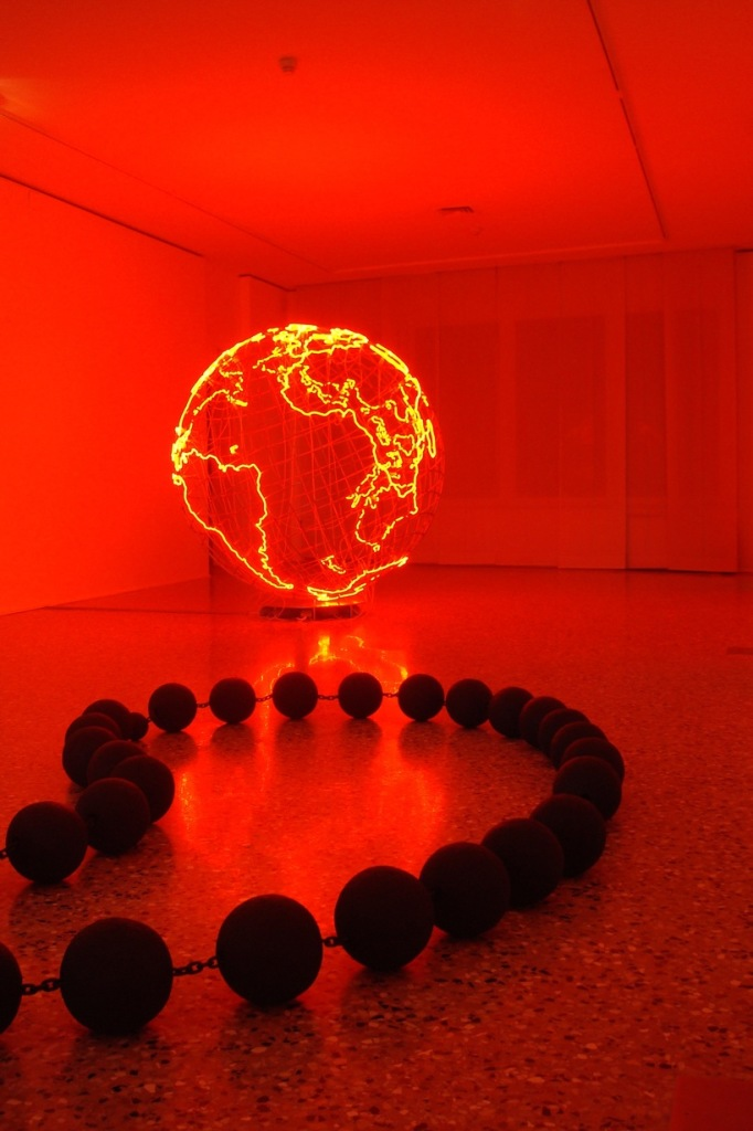 Mona Hatoum, Hot Spot and Worry Beads