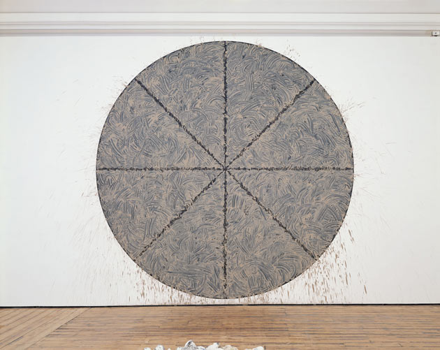 Richard Long-Haunch of Venison Circle-2003
