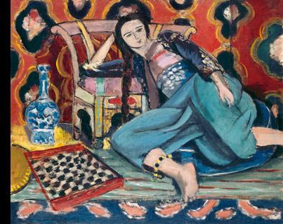 Henri Matisse, Odalisca y butaca turca