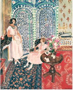 Henri Matisse, Le Paravent mauresque