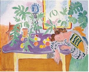 Henri Matisse, Nature mote à la dormeuse