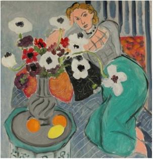 Henri Matisse, L'Odalisque, Harmonie Blueue