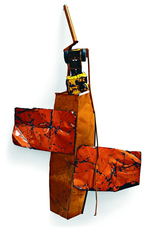 Robert Rauschenberg, Blood Orange Summer Glut