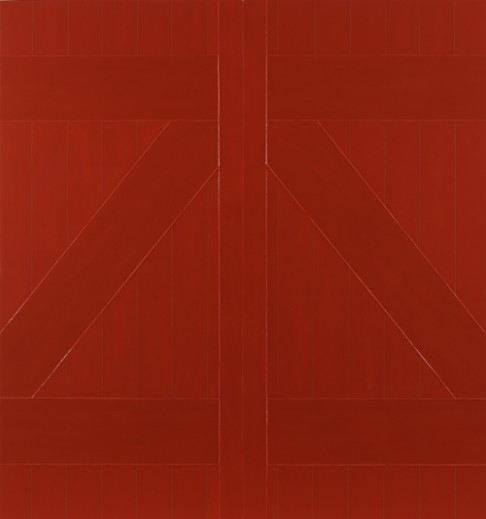 gary hume red barn door via other criteria