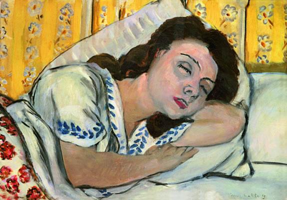 Henri Matisse, Portrait de Marguerite endormie