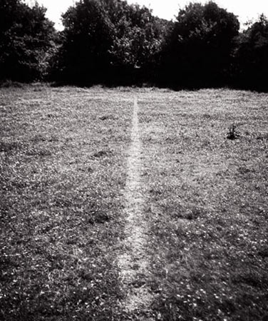 A line made by walking-Richard Long