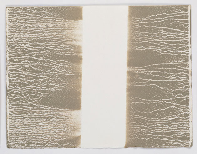 Richard Long-Untitled Mud with Rivulets-2005
