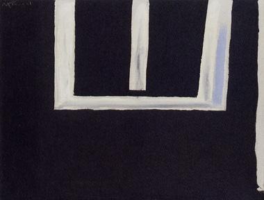 Robert Motherwell, Open No. 148