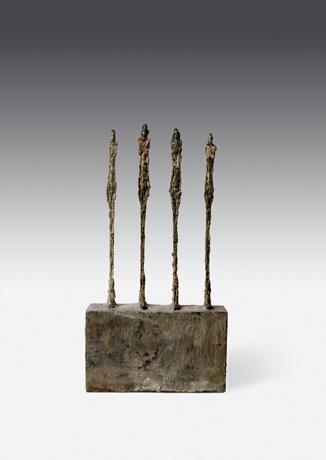 Alberto Giacometti, Quatre femmes sur socle