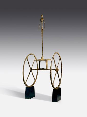 Alberto Giacometti, Le chariot