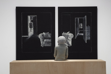 Juan Muñoz, Ventriloquist Looking for a Double Mirror, Museo nacional centro de arte reina sofia