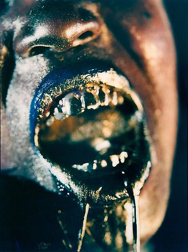 Marilyn Minter, Wangechi Gold 3, The Female Gaze: Women Look at Women, Cheim & Read