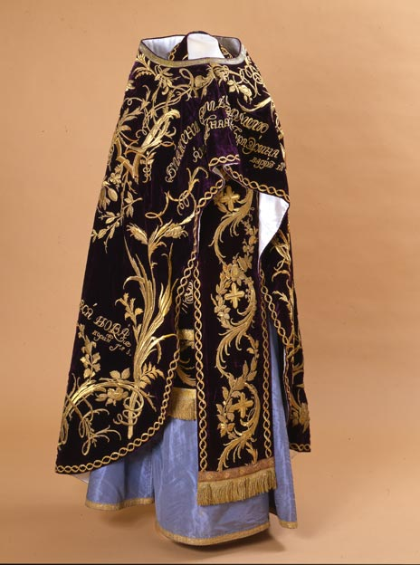 Priest's vestments with accessories, The Russian Court Hermitage Amsterdam