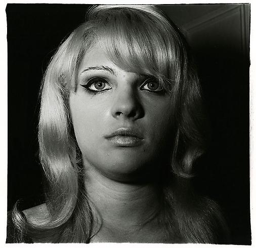 Diane Arbus, Blonde Girl With Shiny Lipstick, N.Y.C., The Female Gaze: Women Look at Women, Cheim & Read