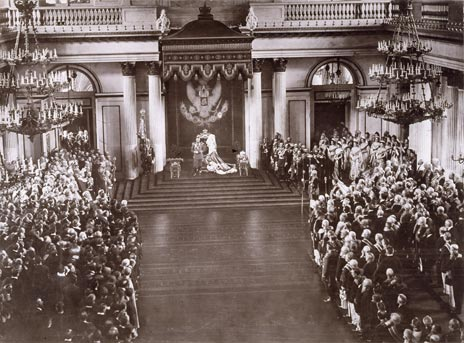 Speech from the Throne by Nicholas II, At the Russian Court, Hermitage Amsterdam