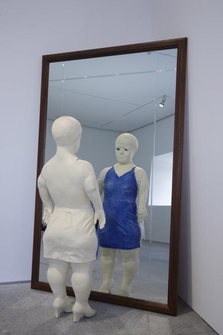 Juan Muñoz, Sara with Mirror, Museo Nacional Centro de arte reina sofia