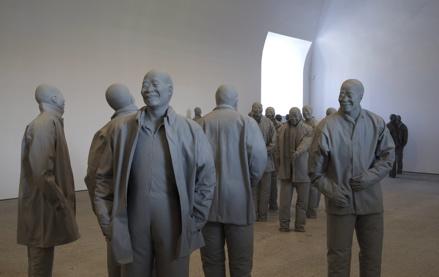 Juan Muñoz, Many Times, museo nacional centro de arte reina sofia