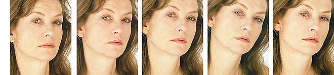Roni Horn, Untitled (Isabel Huppert), The Female Gaze: Women Look at Women, Cheim & Read