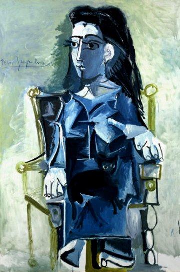 cezanne musee granet pablo_picasso_jacqueline_assise_dans_un_fauteuil_1964