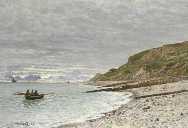 Corot to Monet National Gallery London making Waves Claude Monet