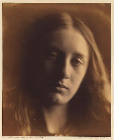 Julia Margaret Cameron, May Prinsep (Head of St. John)