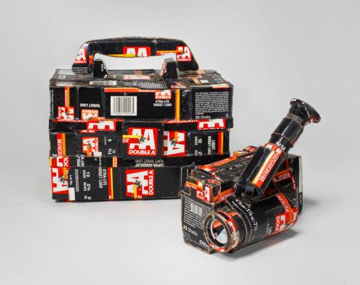 Tom Sachs Cameras, Sony TR 81 with box, The Aldrich Contemporary ARt useum