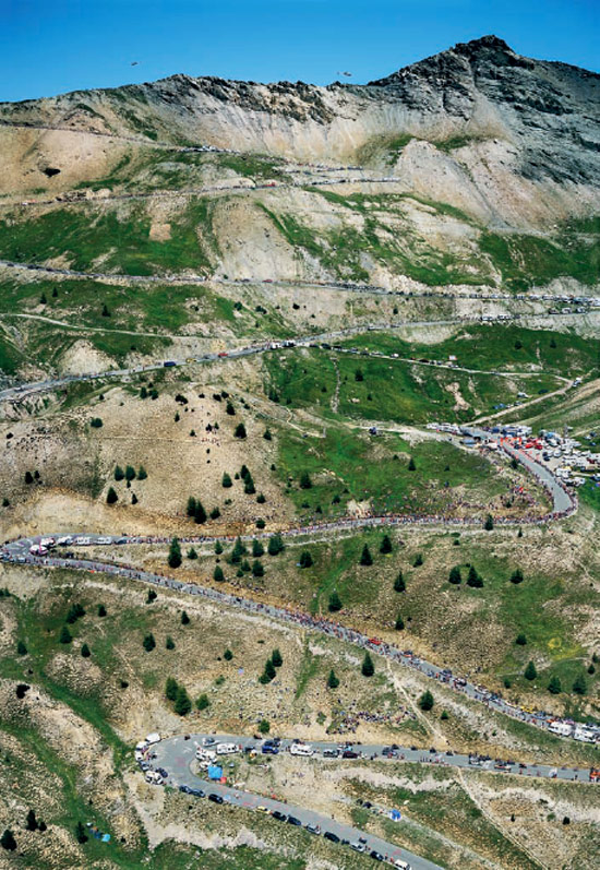 Andreas Gursky - tour de france lance armstrong stages