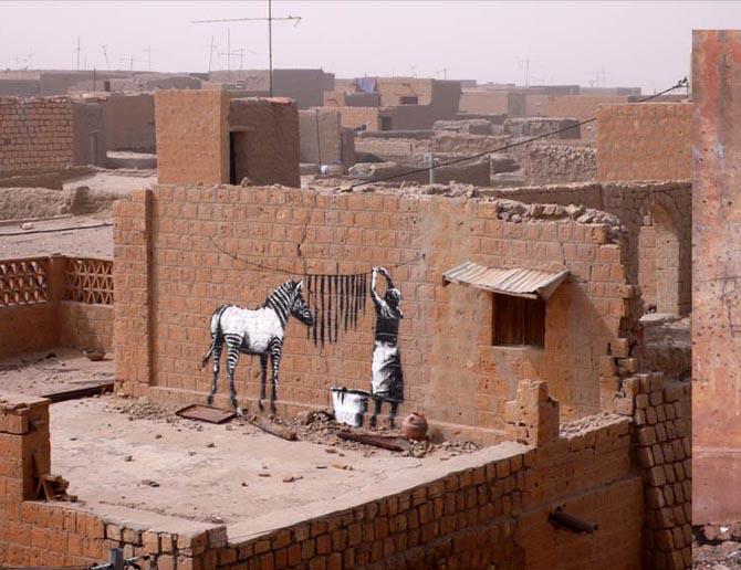 Banksy in Africa