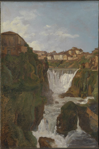 Corot to Monet The national gallery View of the cascades at tivoli Simon Denis