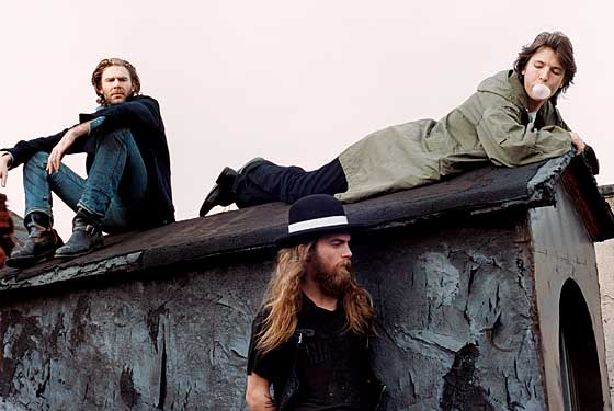 Dash Snow, Ryan McGinley, Dan Colen rooftop New York Magazine