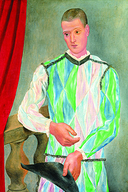 Picasso Arlequin cezanne musee granet
