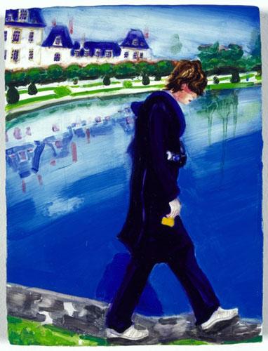 Prince Eagle (Fontainbleau)-Elizabeth Peyton-1999