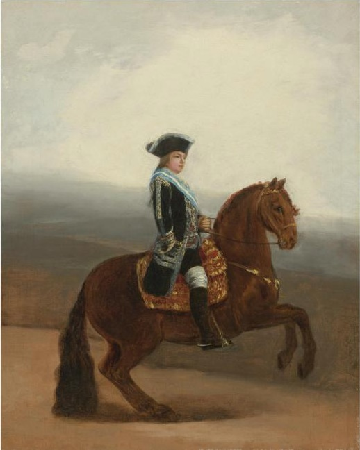 Francisco Jose de Goya Lucinetes - Equestrian Portrait of Don Manuel Godoy Duke of Alcudia