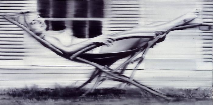 Gerhard Richter, Deck Chair II, 1965