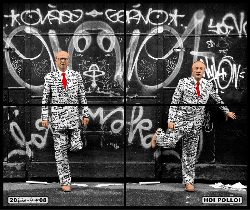 Gilbert and George - Hoi Pollio