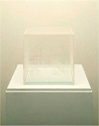Hans Haacke, Condensation Cube, Boule to Braid, Lisson Gallery, Nicholas Logsdail