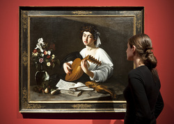 Caravaggio in Holland, Lute Player, Städel Museum