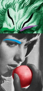John Baldessari Raised Eyebrows/ Furrowed Foreheads With Apple Mai 36