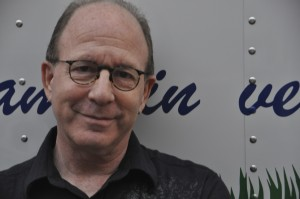 Jerry Saltz, art critic for The New Yorker.  Photo by Michael Bartelle.