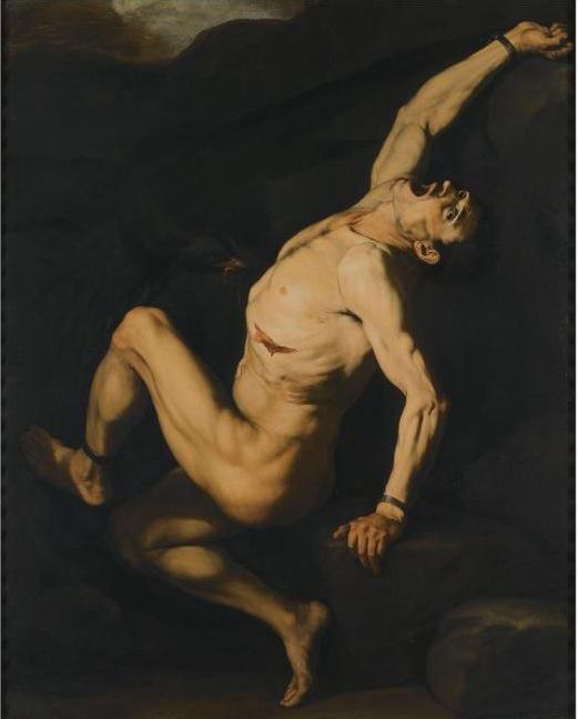 Jusepe de Ribera - Lo Spagnoletto Prometheus