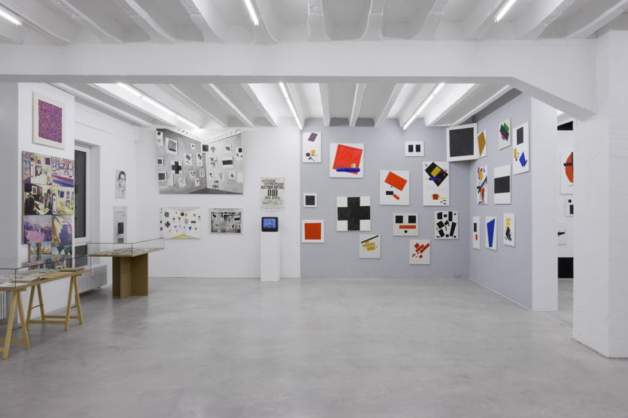 Malevich_exhibition view