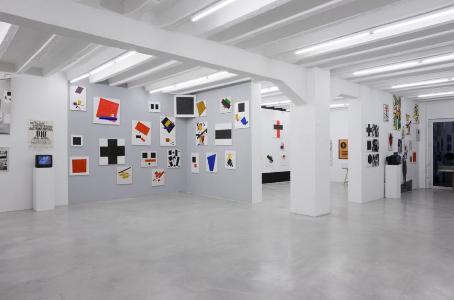 Malevich_exhibition view 2