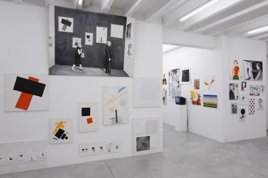 Malevich_exhibition view 4