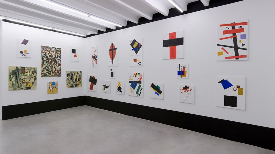Malevich_exhibition view 5